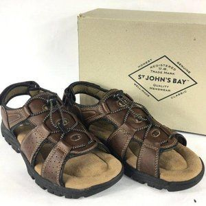 St Johns Bay Memory Foam Sandals 10